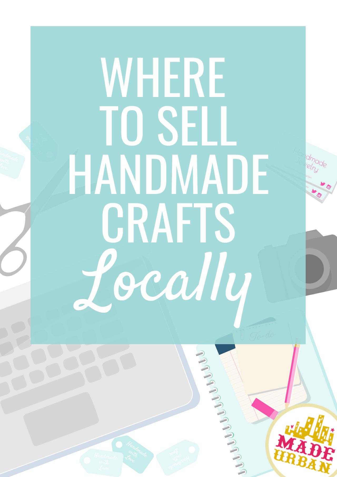 There are many perks to selling handmade crafts locally and although you're limiting the locations to sell, you're not limiting your options.