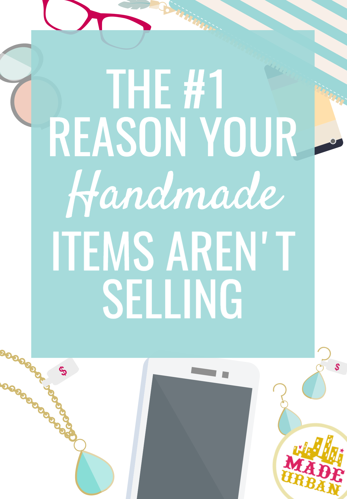 You're listing your handmade products online, sharing on social media and setting up at craft shows but they aren't selling. Here's why.