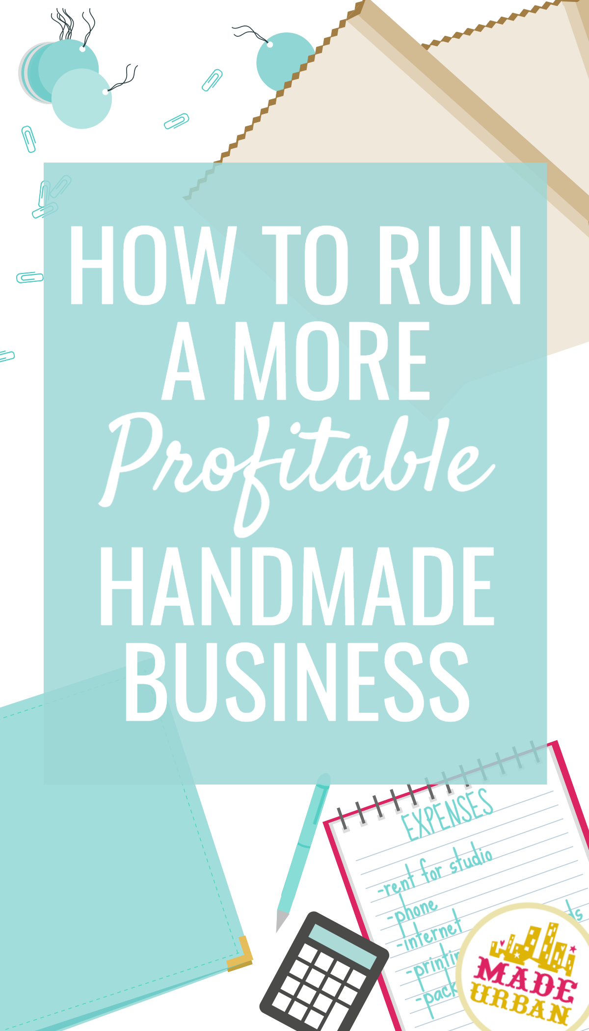 How to run a more profitable handmade business