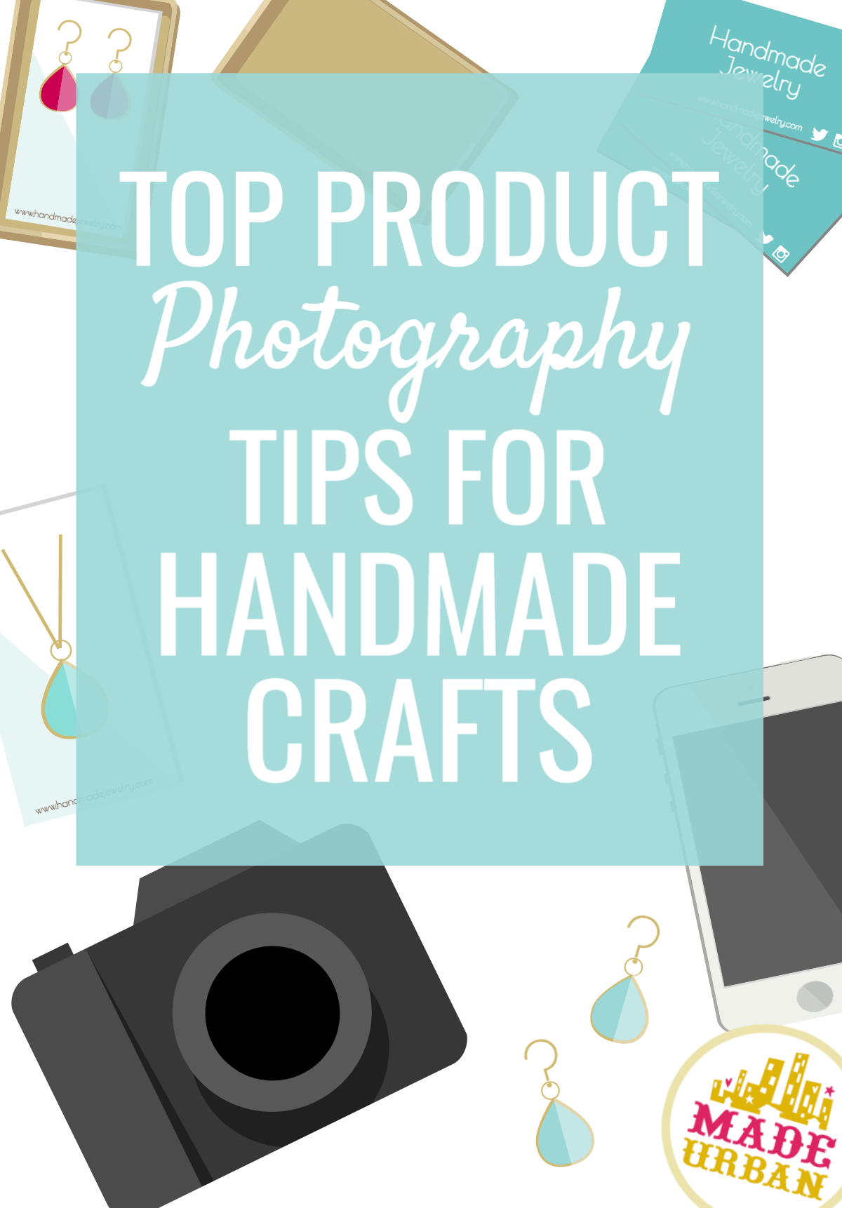 With advice from an Instagram expert featuring thousands of handmade businesses, we're sharing top photography tips to take the best photos of your crafts.
