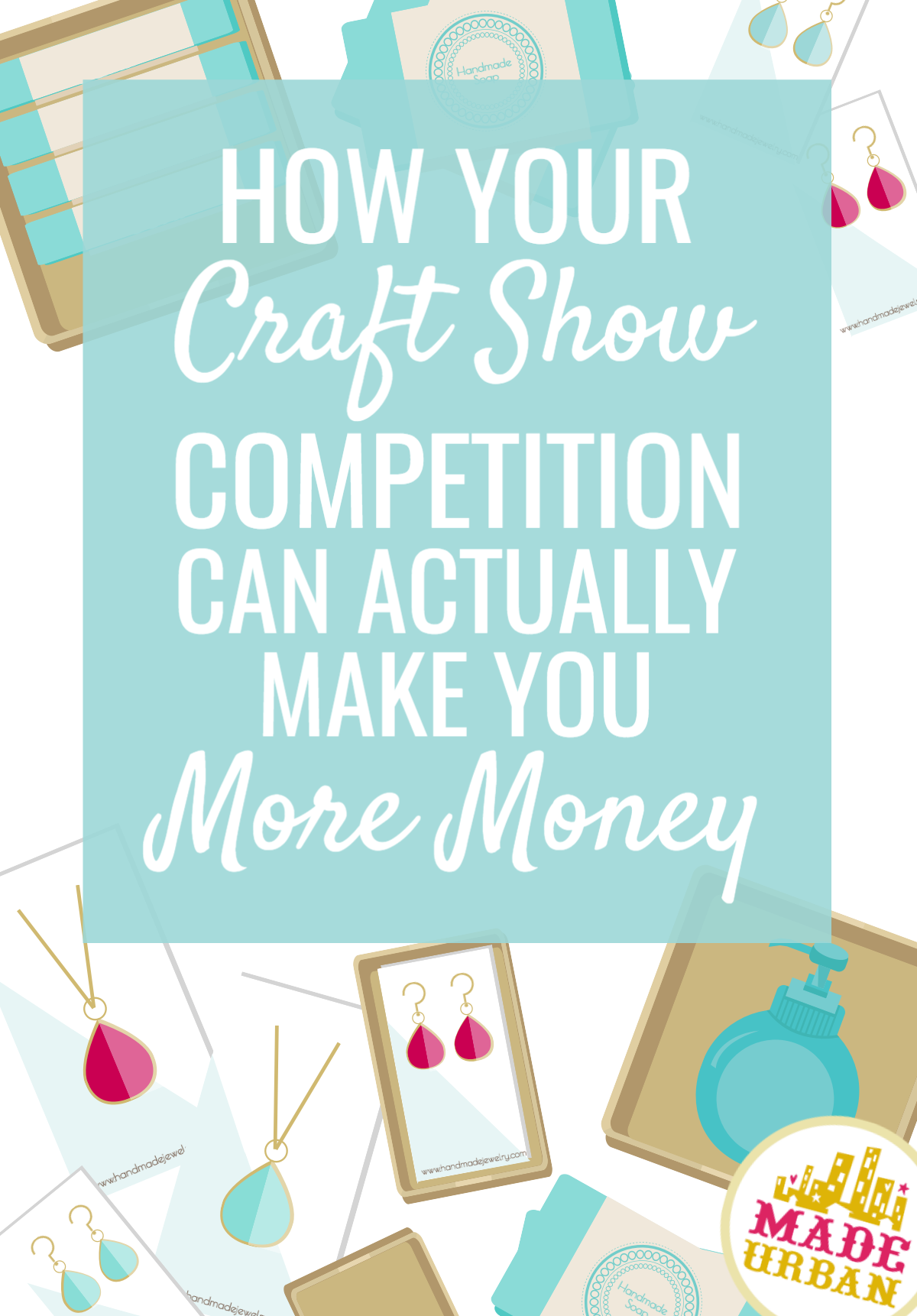 You may look at other craft fair vendors as your competition. But there's actually a way you can work with them to boost your sales and make more money.