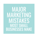 Marketing Mistakes most Handmade Businesses Make