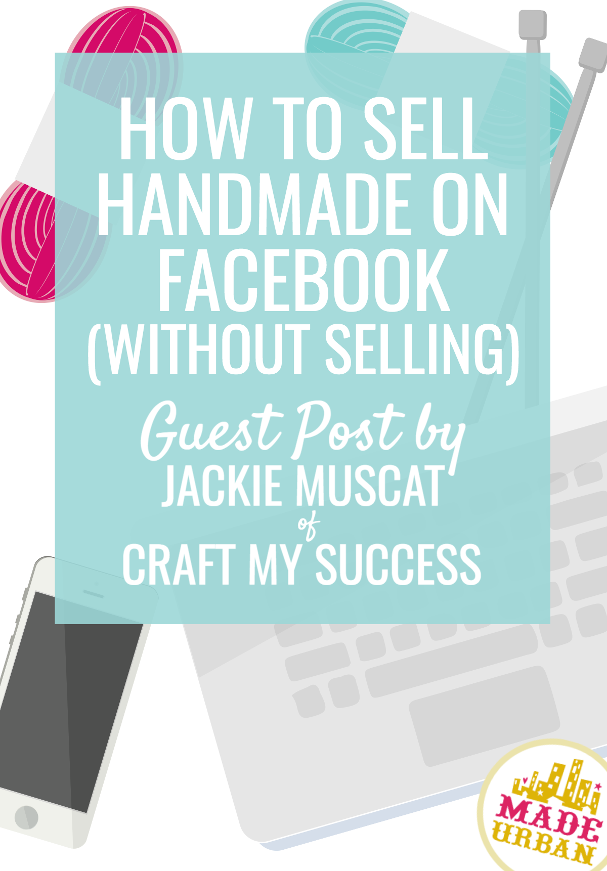 Facebook has over 2 billion users but as a Facebook coach for makers and artists, I know that it's a struggle to get your posts seen. Here are 4 types of posts that will get your handmade products seen and sold without actually selling