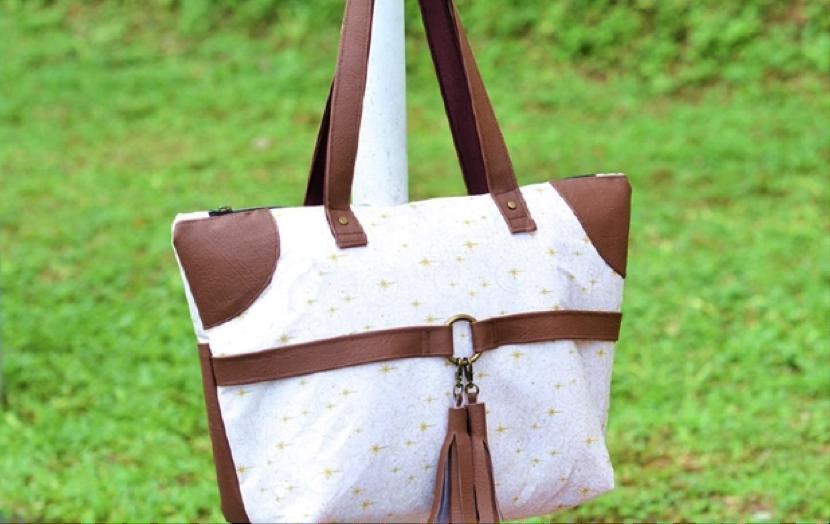 Photographing a Handmade Bag