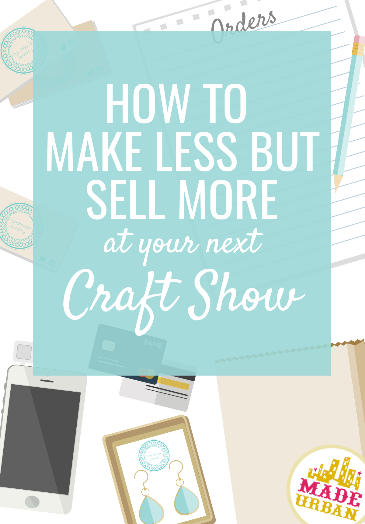 Do you earn every dollar you make or sell items that bring big profits & free up your time? Learn what the difference is between earning your money and making it and how you can make your handmade business more profitable by introducing products you likely haven't thought of.