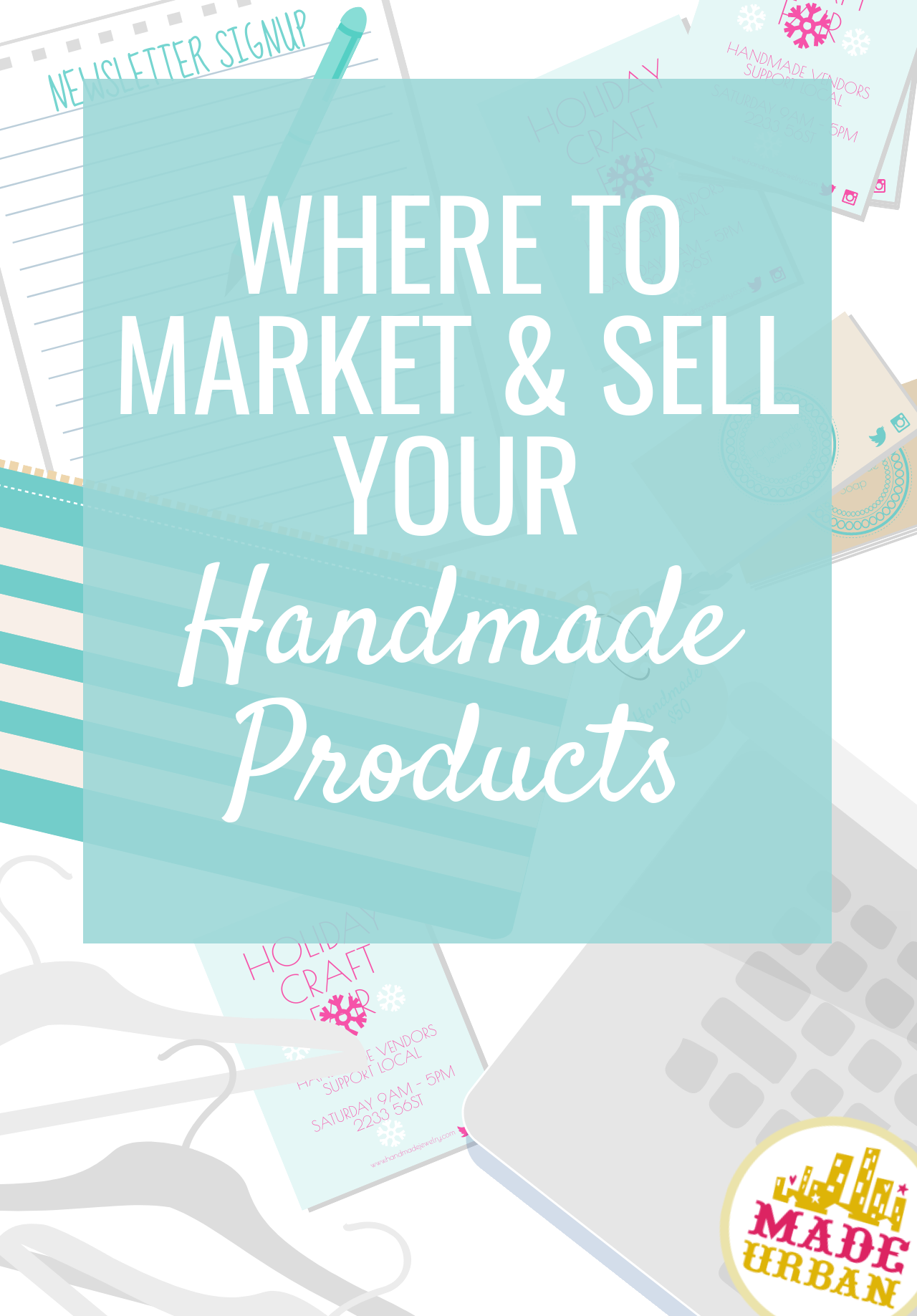 There are many sales and marketing channels for handmade businesses to use, however, they must be chosen wisely based on your products, customer & business.