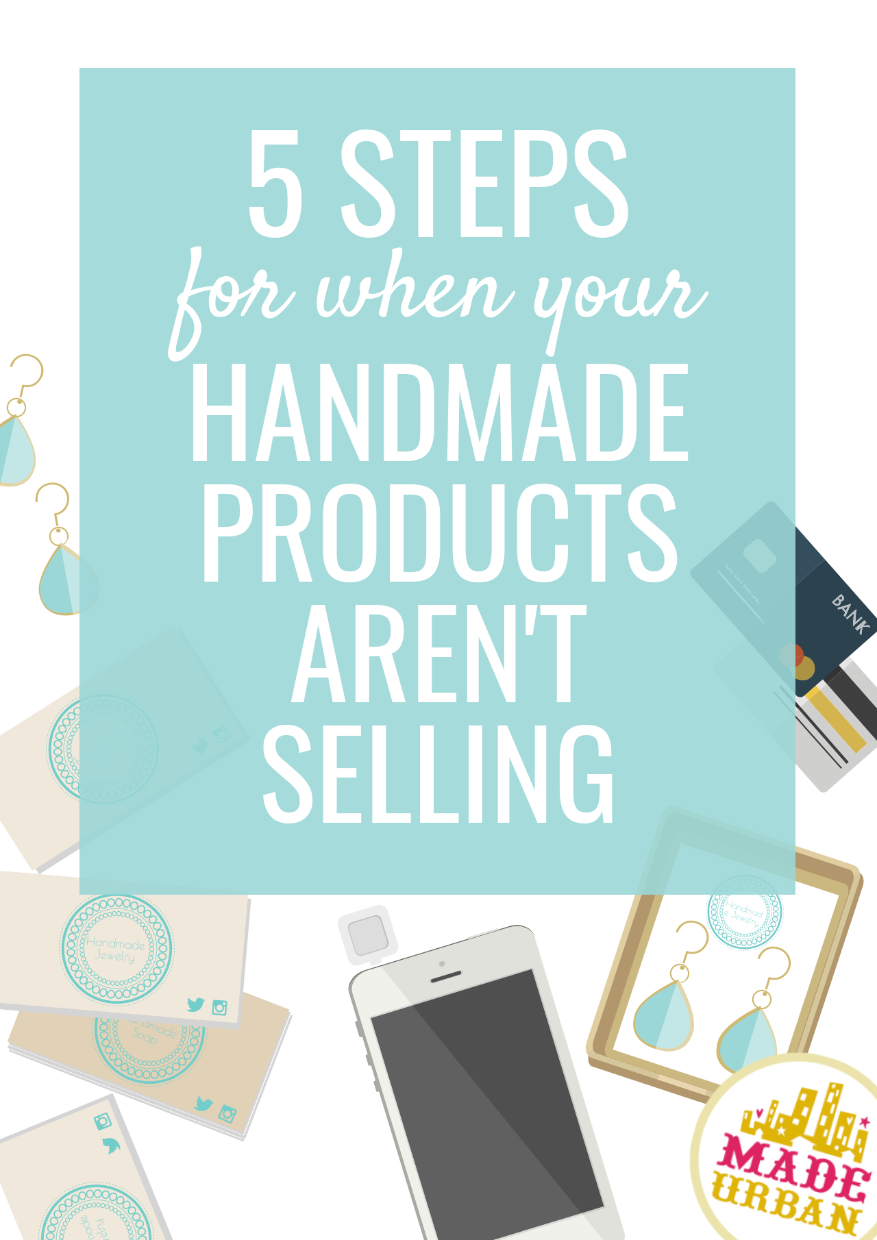 Whether you rely on crafting as a source of income or not, if those products aren't selling, do you keep creating? How to get sales so you can keep creating
