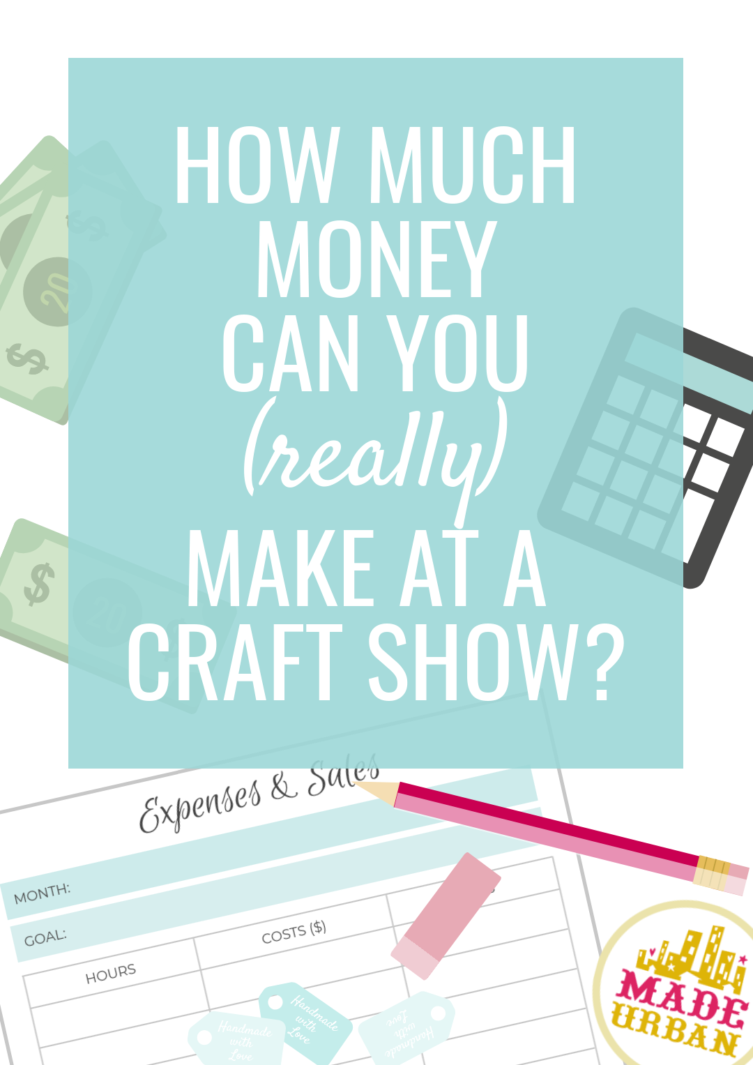 Revenue made at craft shows depends on so many factors. Here's how to determine how much money your business is likely to make and if you'll be profitable.