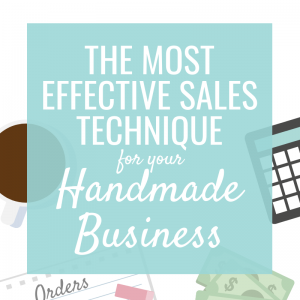 The Most Effective Sales Technique