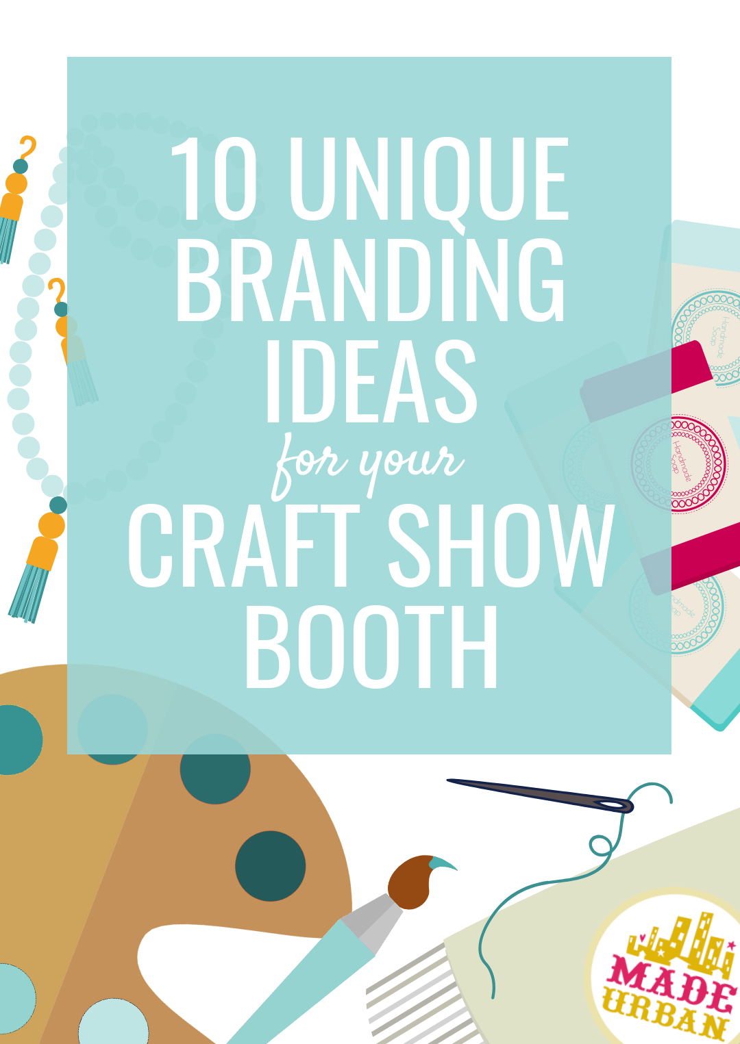How to create a unique experience for your shoppers, no matter what you sell or how big or small of space you sell it in. These ideas will help you stand out at a craft show, draw shoppers over, convert more shoppers into customers and help shoppers remember your brand.