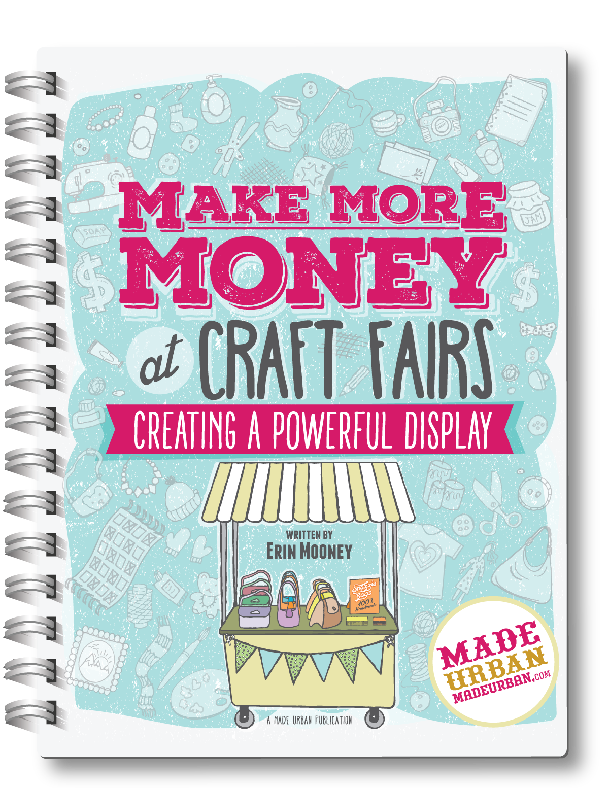 How you display your products at a craft fair and design your booth is more important than what you sell. If you don't design a space that grabs attention, draws shoppers over and leads them to believe your products are worth (or worth more than) their price, you'll have a hard time making sales. Here's how to design a powerful craft fair display...