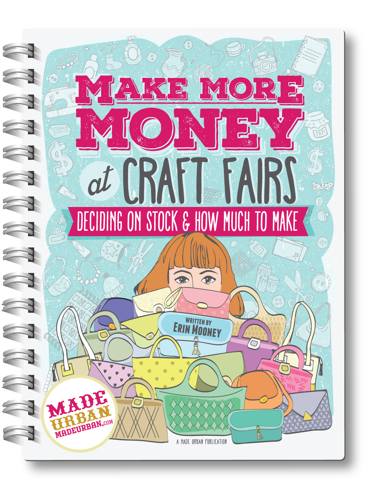 Formulas, calculations and schedules to follow to determine how much stock you should make for a craft fair, if it's a realistic number and how to get stock made in time so you're not up until 2am the night before an event.