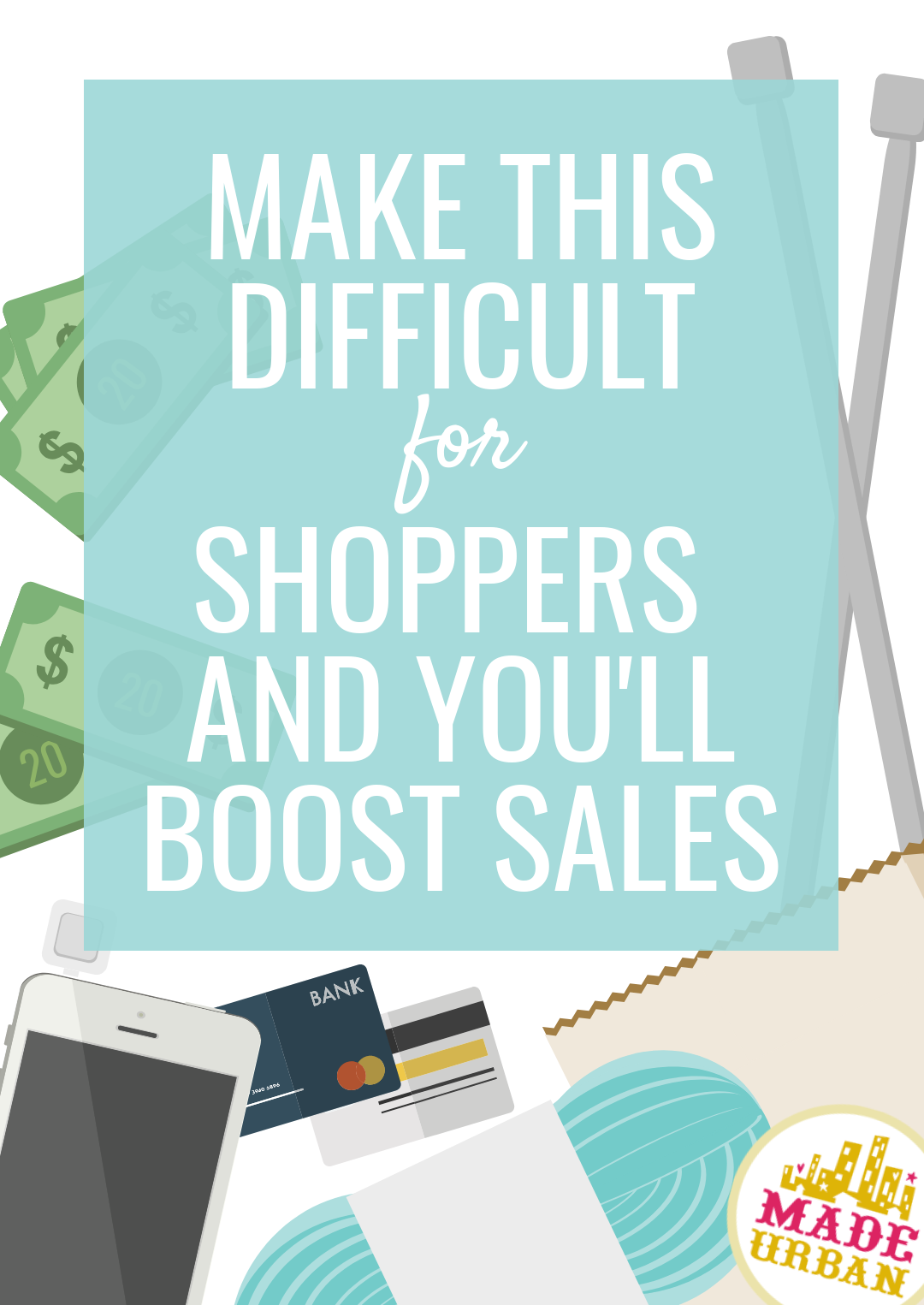 In most cases, you should be making things easier for shoppers, however, there is one step you should make more difficult. Do so and you'll see a boost in sales. Find out what it is...
