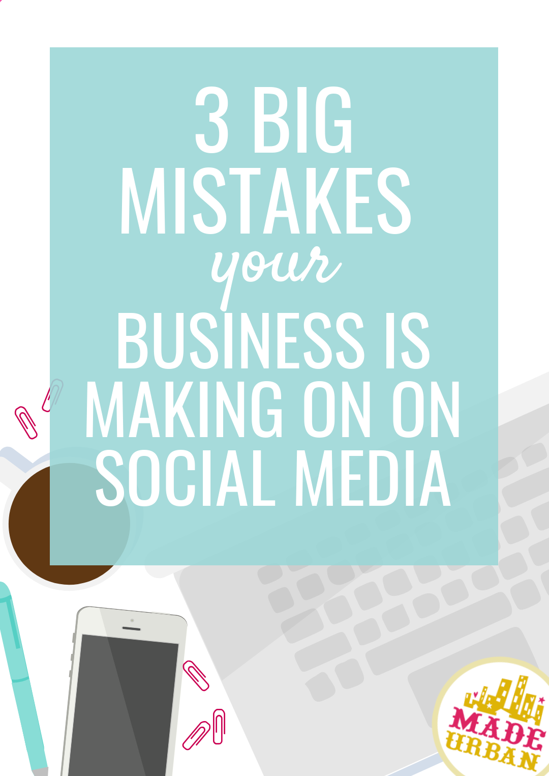 If you're mostly using social media to post pictures of your product because you're hoping someone will see them and buy, you're doing it wrong ;) Here are the 3 biggest mistakes I see handmade businesses make on every social media platform and how you can fix them.