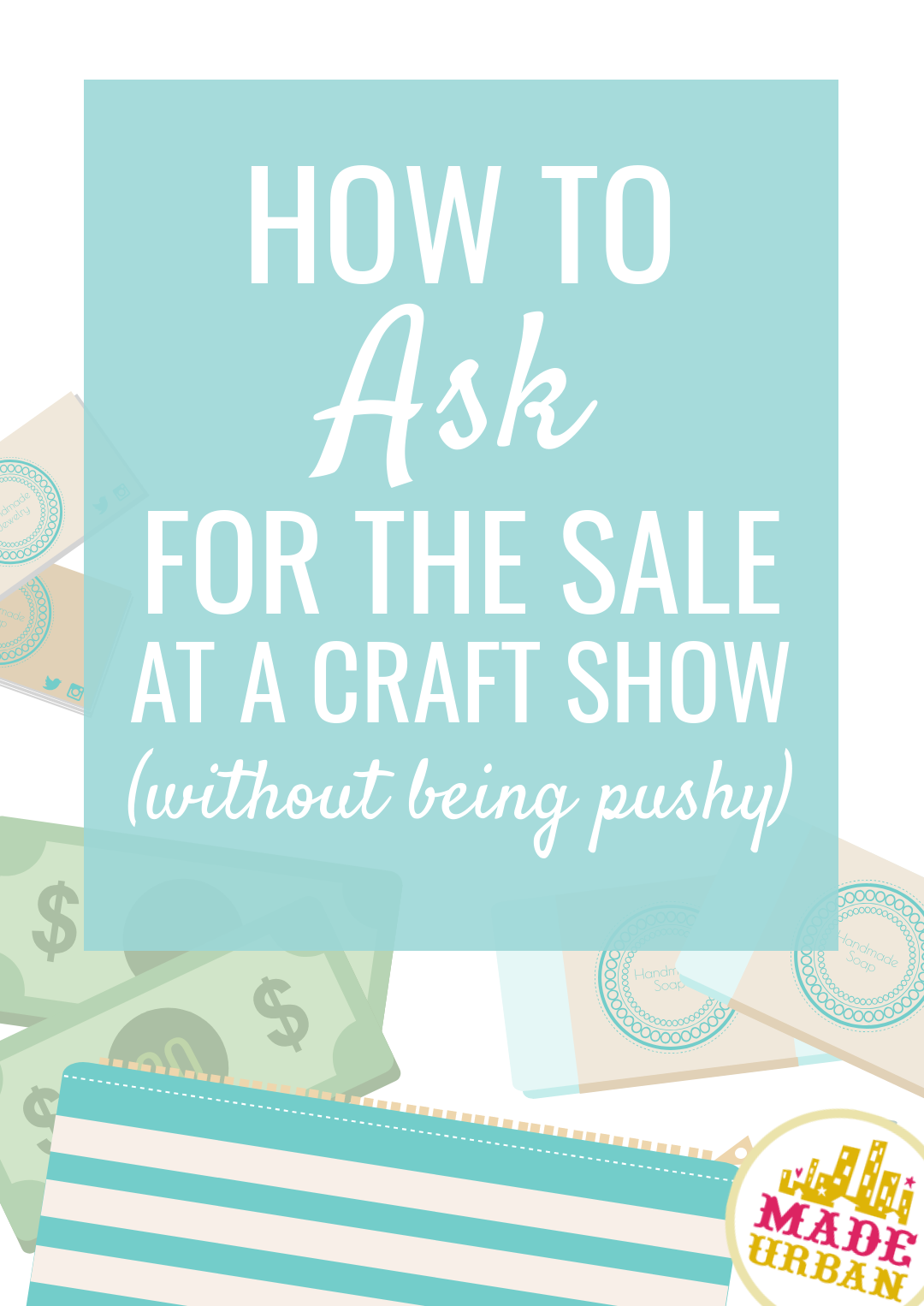 It can feel uncomfortable to ask for a sale but it doesn't have to come across as pushy and it's so incredibly important to your business. Let me explain why a few simply words can boost your sales and why they're absolutely necessary (and not being pushy at all)