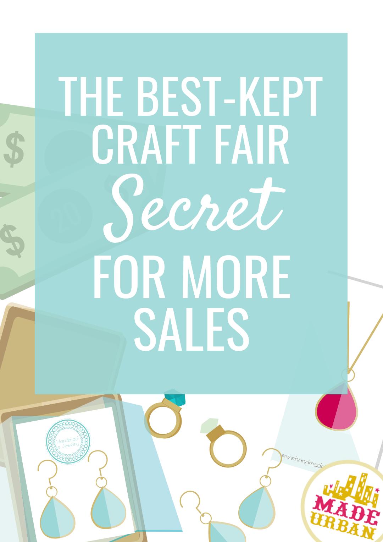 The Best-Kept Craft Fair Secret