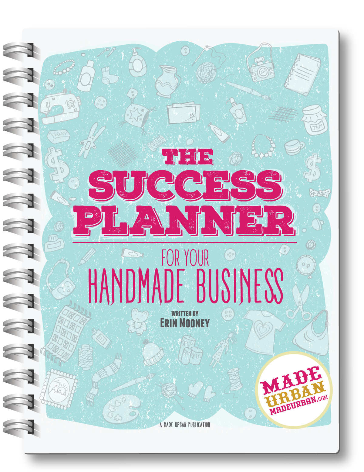 If you haven't been reaching your sales goals and feel like your business is unorganized, this planner is for you. It's not simply blank calendars and lined pages for you to figure out your year on your own. It's guided with a repeatable 5-step system that will help your business follow the simple success formula: money in is greater than money out