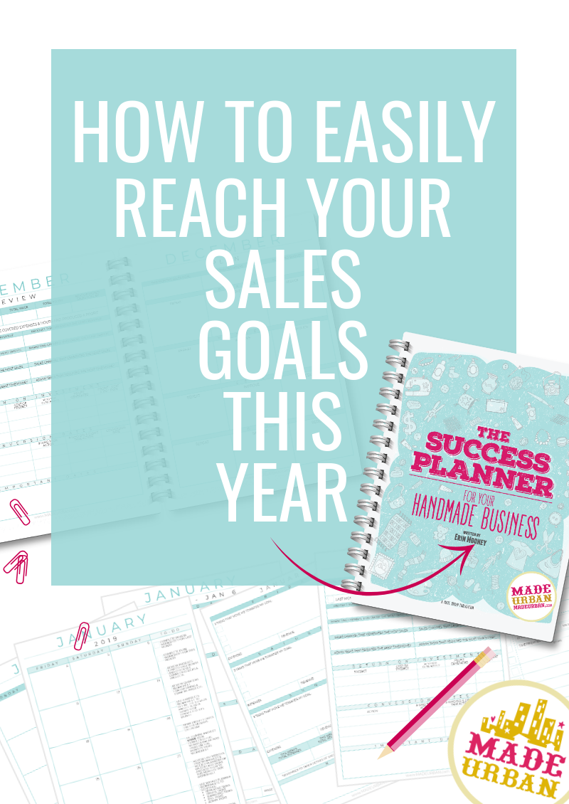 The Success Planner for your Handmade Business