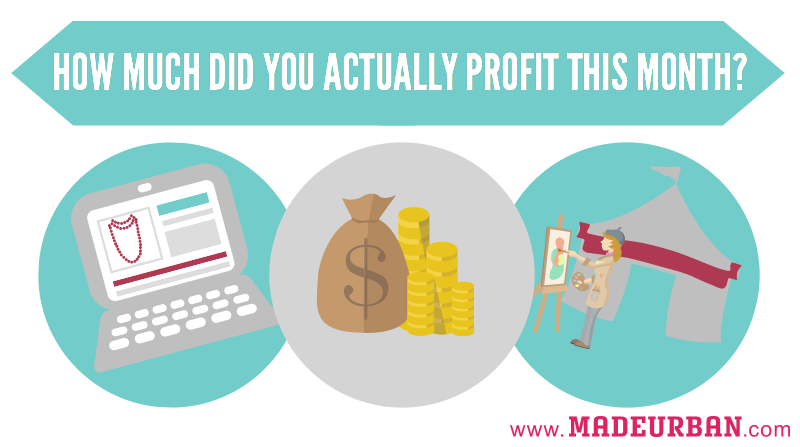 How Much Profit does your Handmade Business REALLY Make ...