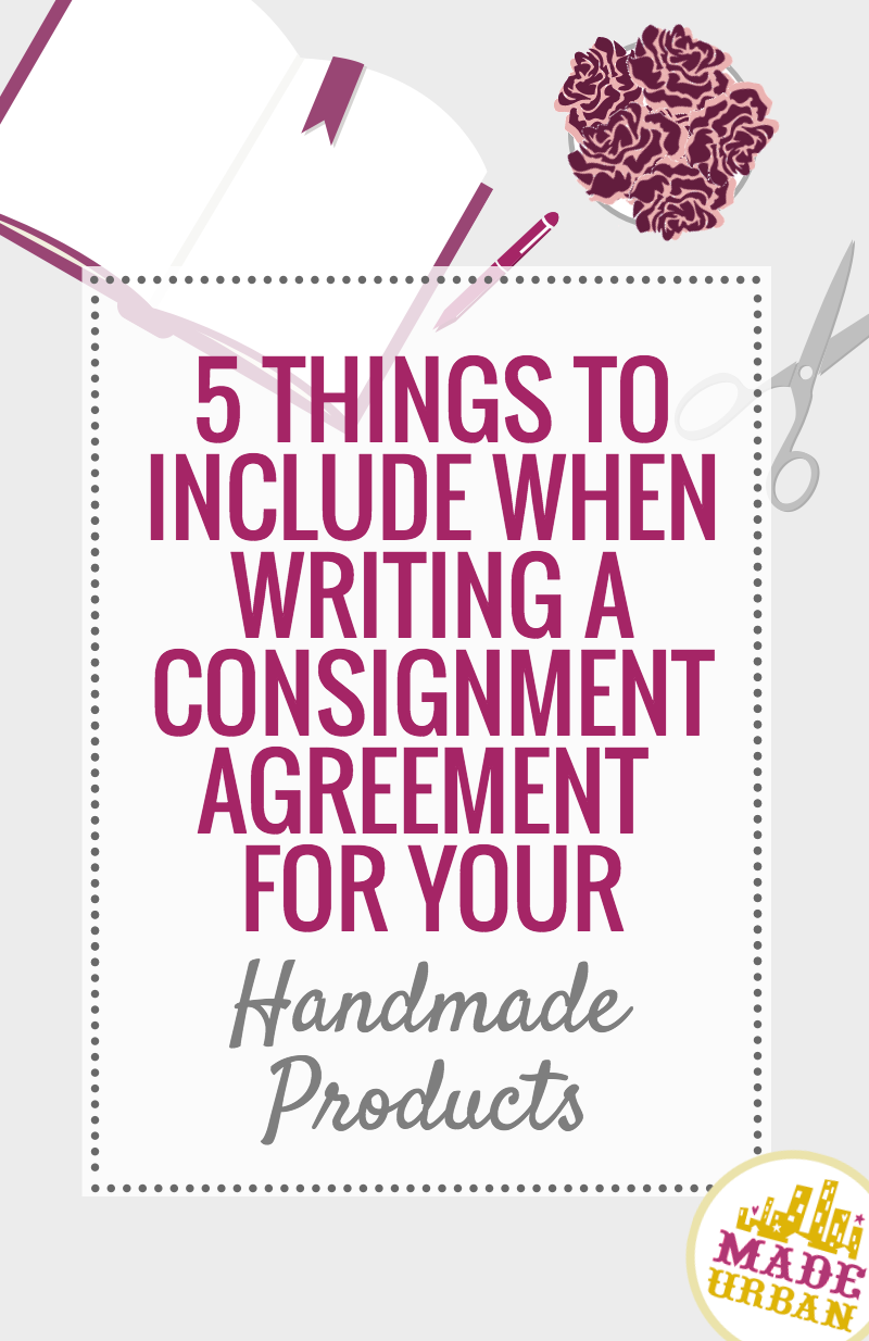 What to Include in a Consignment Agreement - Made Urban