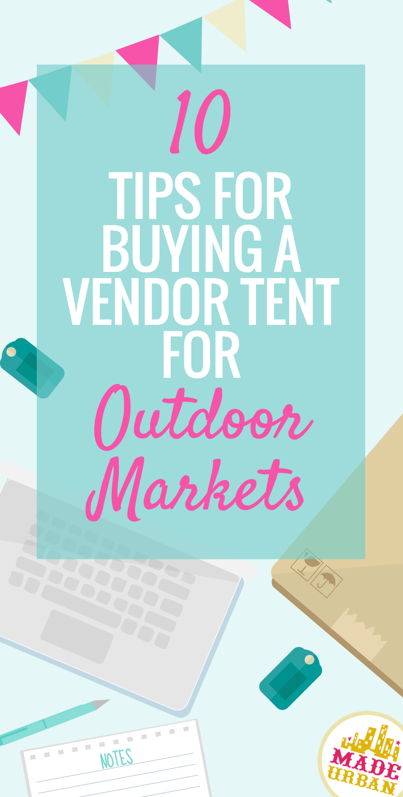 Tips for buying a vendor tent for outdoor markets