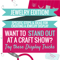 HOW TO DISPLAY JEWELRY AT A CRAFT FAIR