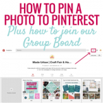 HOW TO PIN PHOTOS TO PINTEREST