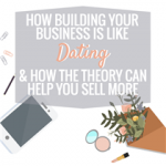 HOW BUILDING YOUR BUSINESS IS LIKE DATING & HOW THE THEORY CAN HELP YOU SELL MORE