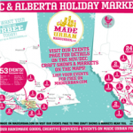 2015 Christmas Markets & Craft Fairs in Alberta & BC