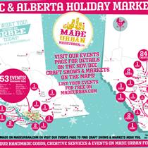 2015 Christmas Markets & Craft Fairs in Alberta & BC
