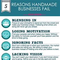 5 Reasons Handmade Businesses Fail
