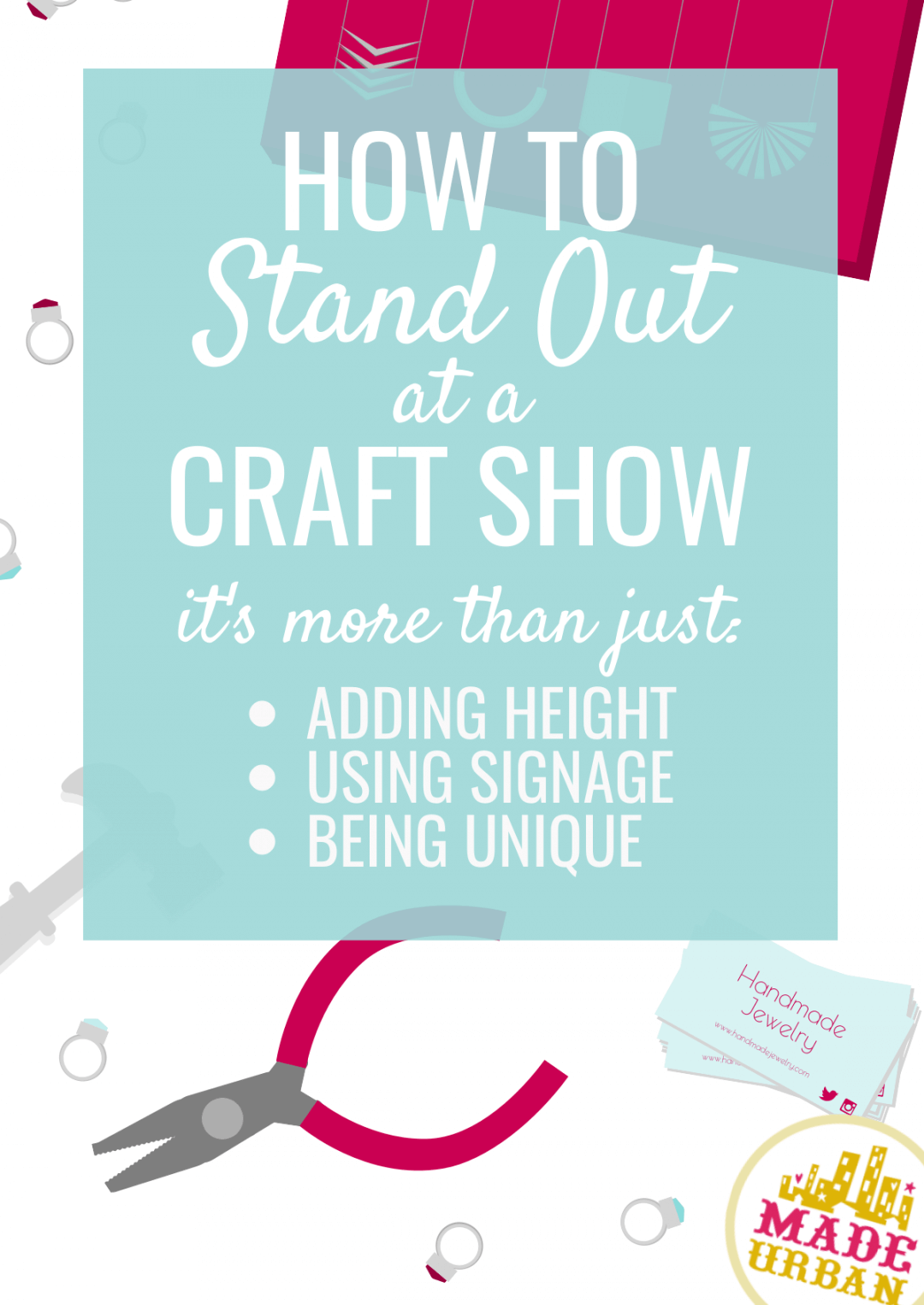 Want To Stand Out At A Craft Show Try These Display Tricks Made Urban