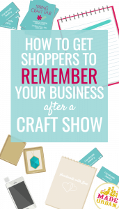 HOW TO GET SHOPPERS TO REMEMBER YOUR BUSINESS