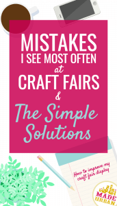 MOST COMMON CRAFT FAIR MISTAKES