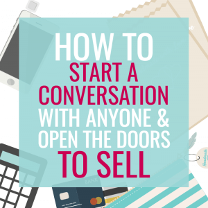 HOW TO START A CONVERSATION WITH ANYONE AT A CRAFT SHOW