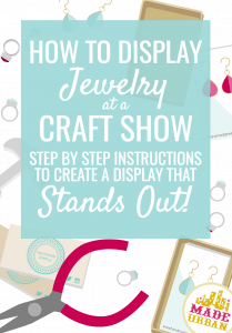 Jewelry is usually the most saturated category of product at a craft fair. Which means if you want to attract shoppers and make sales, your display needs to stand out. Here are 3 steps to creating an display that wows