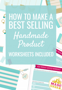 Anyone can create a handmade product that becomes best selling and has people talking, sharing and buying. Follow these 3 steps and worksheets to boost your product sales.
