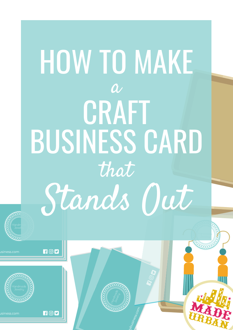 How to Make a Craft Business Card that Stands Out