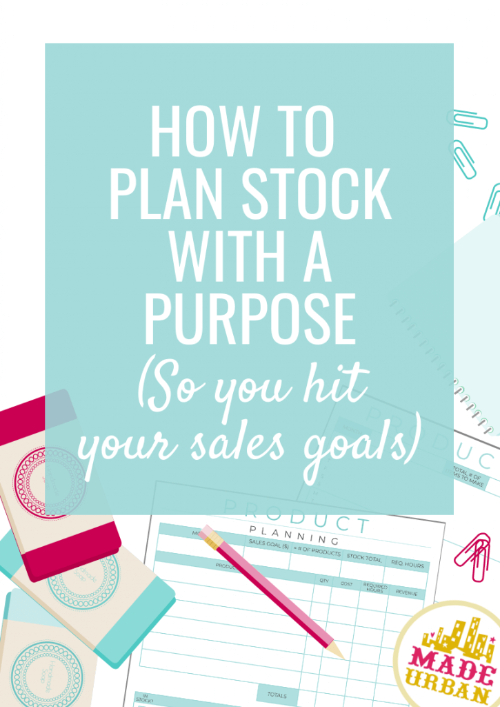 How to plan stock with a purpose